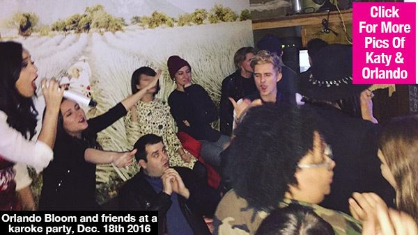 Katy Perry & Orlando Bloom Cover Alanis Morissette At Karaoke — Epic Video & Pics