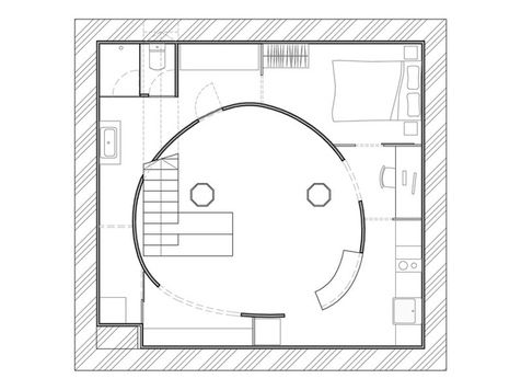 El apartamento en el sótano, 60 m² | Revista AD