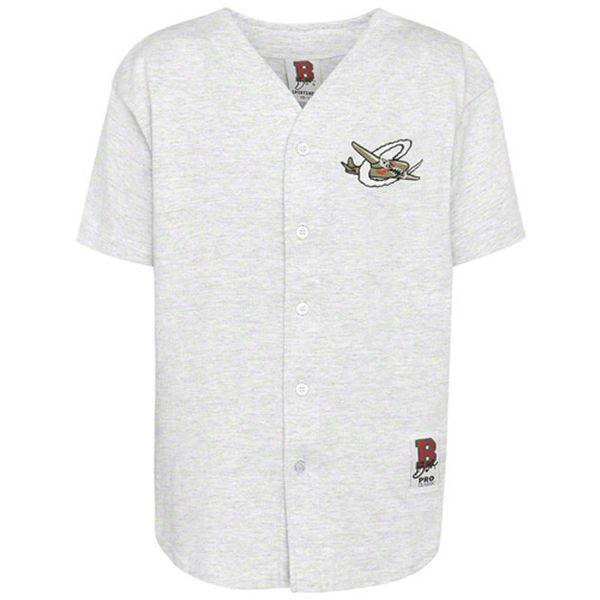 Capital City Bombers Youth Baseball Jersey - Ash - $30.99