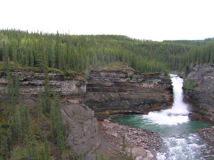 3. Sikanni Chief Falls Protected Area
