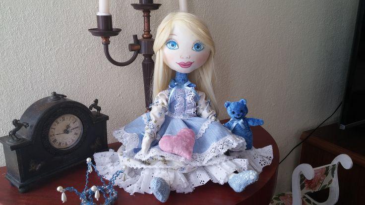 Текстильная кукла. Ароматизированная кукла. Лаванда. Doll.