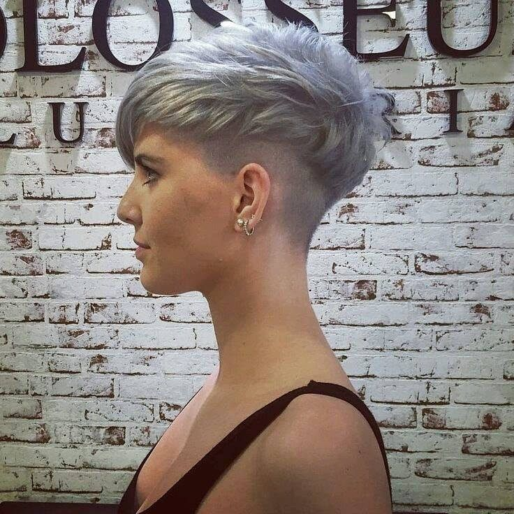 All sizes | 38775465_10156695865607718_2137016950138601472_n | Flickr - Photo Sharing! | Short red hair, Super short hair, Short hair undercut