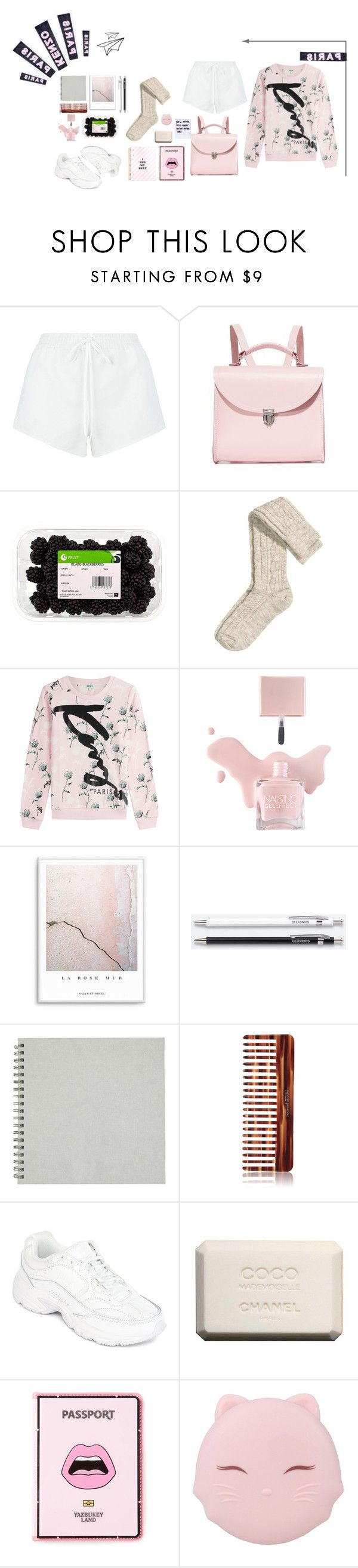 """You'll never miss what you're never had"" by dandinou ❤ liked on Polyvore featuring Chloé, The Cambridge Satchel Company, Kenzo, Unison, Mason Pearson, Fila, Chanel, Yazbukey and TONYMOLY"