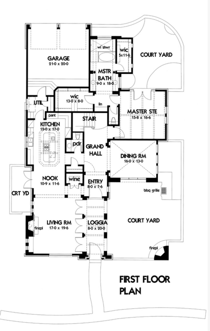 360 best Floor Plans images on Pinterest | Architecture, Floor ...