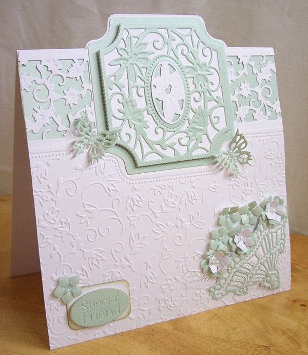Blog tonic: Special Friend - a card from Edna