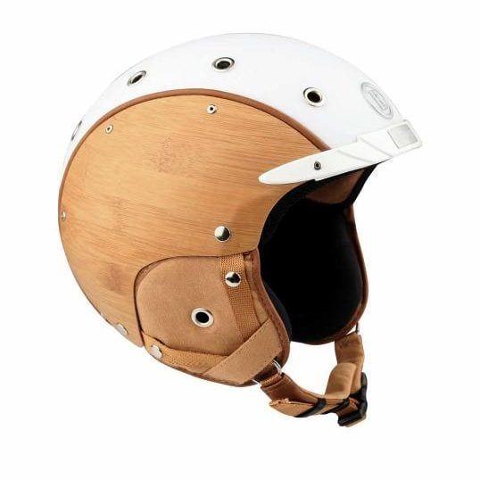 Sport bamboo ski helmet, £515, Bogner