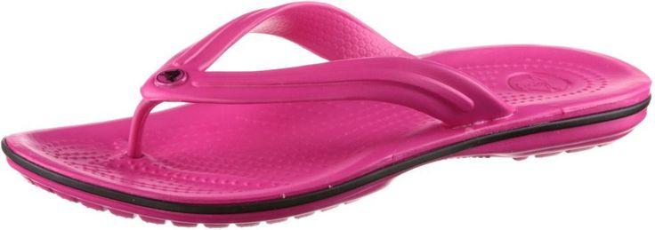 #Crocs #Crocband #Flip #Zehensandalen #Damen #pink