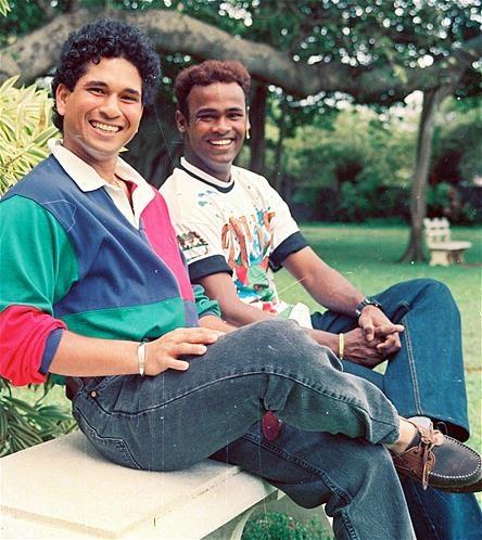 Sachin Tendulkar & vinod Kambli