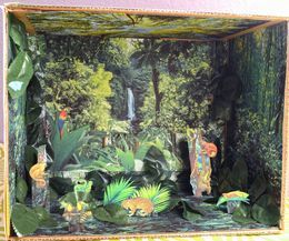 how to make a deciduous forest diorama