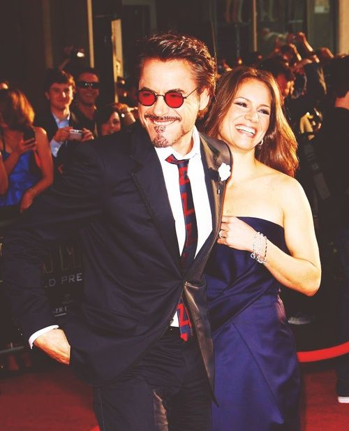 Robert Downey Jr. and Susan Downey... They look like an awesome couple