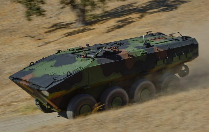 ACV buatan BAE untuk Korps Marinir Amerika Serikat.
