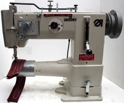ADLER 40 40 Cylinder Bed Walking Foot Reverse Industrial Sewing Delectable Industrial Sewing Machine For Leather