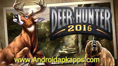 Download DEER HUNTER 2016 v1.0.0 Full Mod Apk | Androidapkapps - DEER HUNTER 2016 – hunting simulator on Android, from the creators of the game Deer Hunter 2014. In Deer Hunter 2016 Mod game you have to hunt wild animals, using a large arsenal of different weapons. Immerse yourself in the unique world of wildlife, traveling around the world and leading the hunt for the most exotic and huge animals.