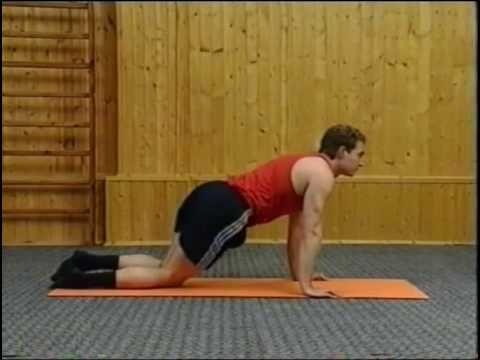 Здоровый позвоночник. Упражнения для пояснично-крестцового отдела. How to get rid of back pain. Loin - YouTube
