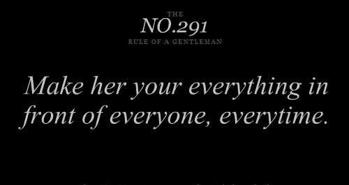 gentlemans rules | Gentleman's rule No.291 | QUOTES