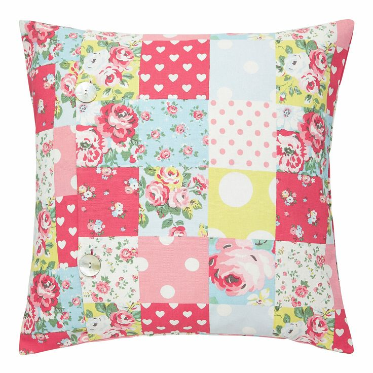 Bedroom   Patchwork Cushion Cover   CathKidston
