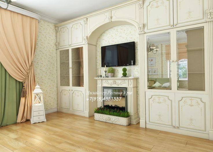 гостиная - прованс - дизайн интерьеров - дизайн проект - светлая гостиная - дизайн гостиной
