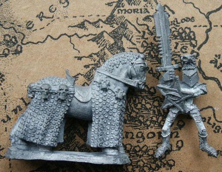Ral Partha 01-147 Boarak, Death Rider of Chaos