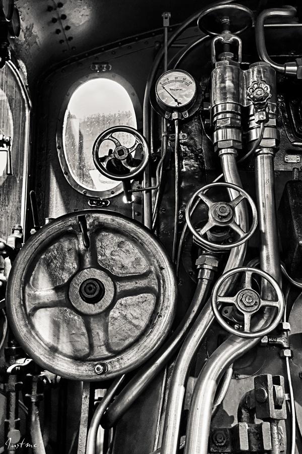 Locomotive - Driver's view