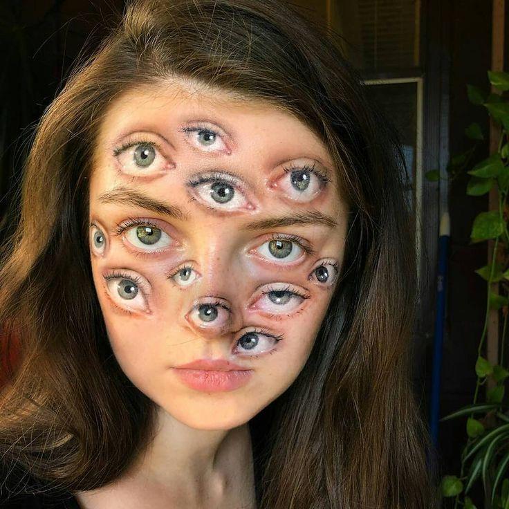 2019 Halloween Makeup Looks Ideas