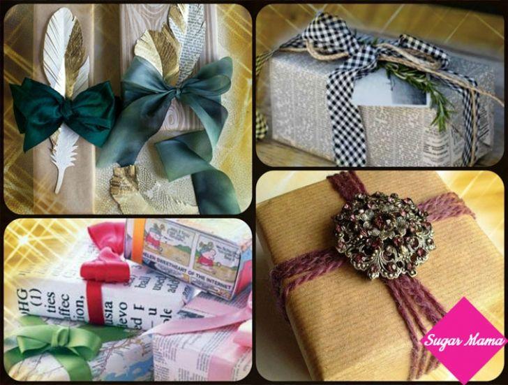 5 Έξυπνες Ιδέες για να τυλίξτε τα δώρα σας!