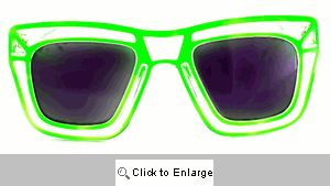 Loud & Clear Wayfarer Sunglasses - 297 Green