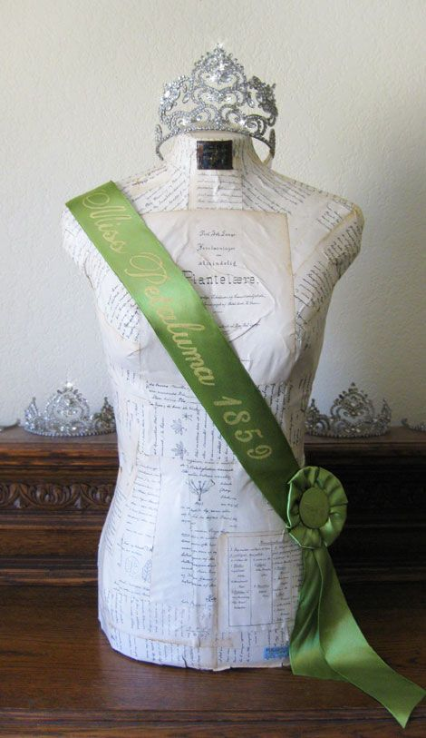 I think I'm adding pageant sashes to Girl's Weekend. They'll be the perfect touch to the already required fake hair and faux fur. Fake accolades. Perfect trio.
