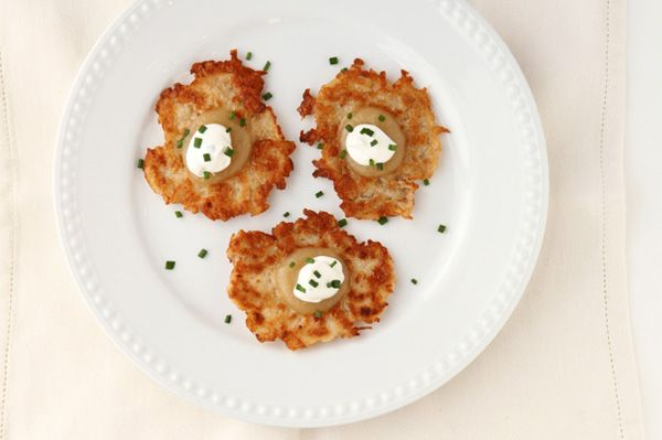 Classic Hanukkah: Potato latkes recipe