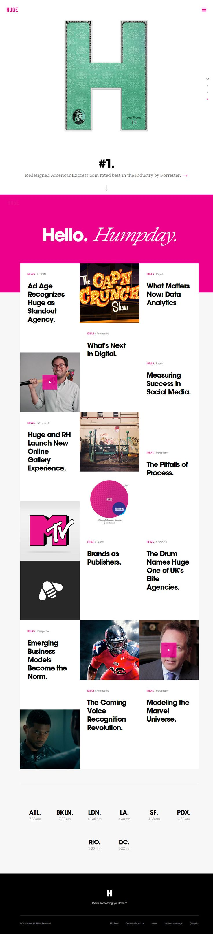 Site of the Month February 2014. ´Huge Inc.´ http://www.awwwards.com/web-design-awards/huge-inc