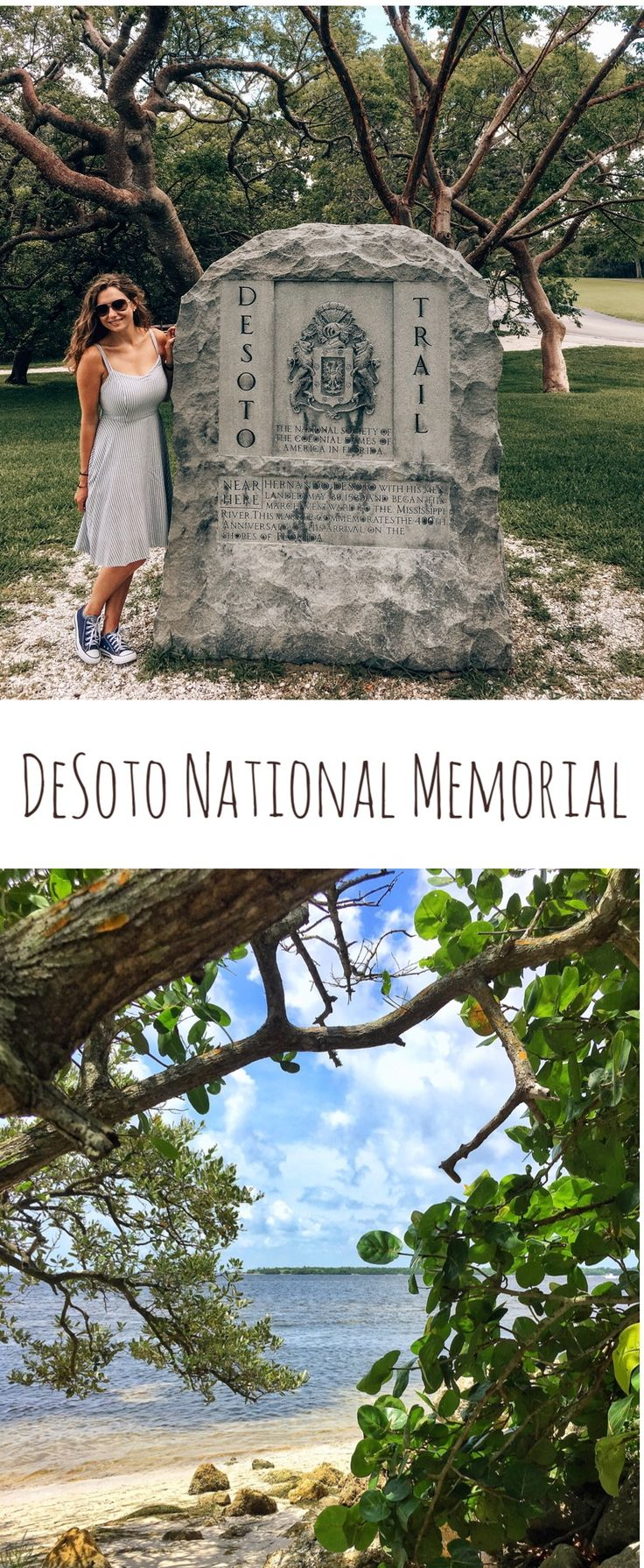 DeSoto National Memorial, a piece of history on the West Coast of Florida