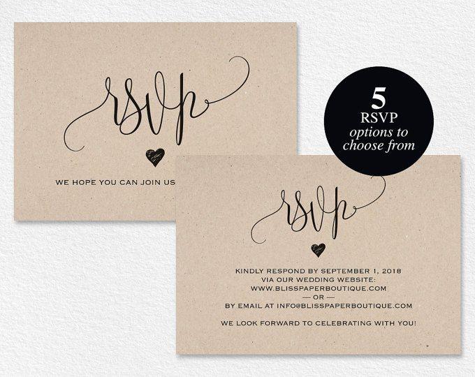 Rsvp Postcard Rsvp Template Wedding Rsvp Cards Wedding Rsvp Etsy Rsvp Wedding Cards Wedding Rsvp Rsvp Wording