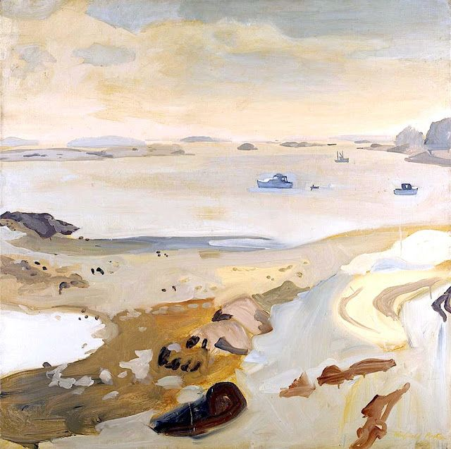 fairfield porter | Low Tide