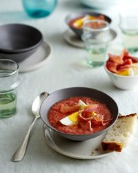 Classic Cold Tomato Soup of Cordoba (Salmorejo Cordobés) // More Great Cold Soups: http://www.foodandwine.com/slideshows/cold-soups #foodandwine