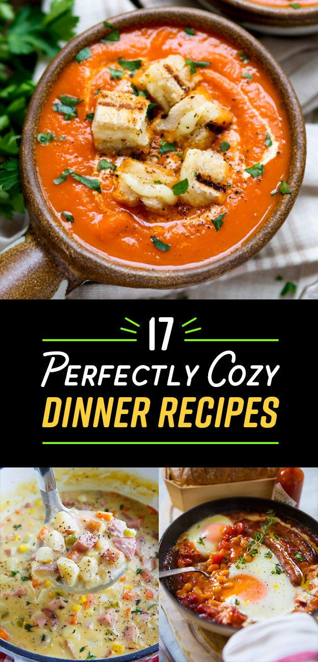 17 Dinner Recipes Cozier Than Your Bed