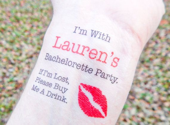 15 Bachelorette Tattoos  Bachelorette Party by SymbolicImports