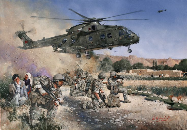 Merlin in Afghanistan