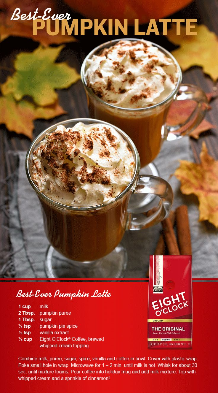 Save room for this coffee treat! It's dessert in a glass – sweet and frothy! Click the pin to find other fun recipes from Eight O'Clock coffee!