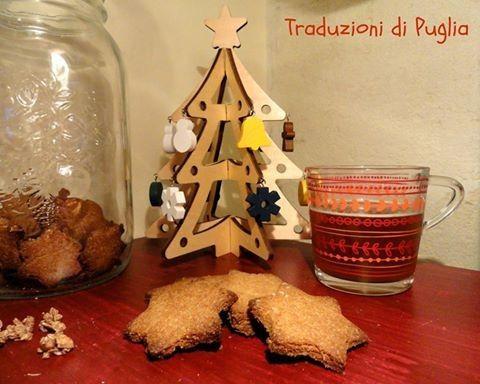 Biscotti con farina di orzo e latte di riso (cookies with barley flour and rice milk)