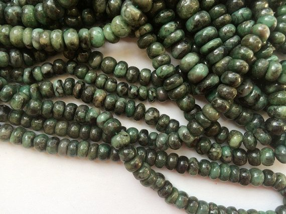 Emerald Beads Shaded Emerald Beads Emerald Plain by gemsforjewels