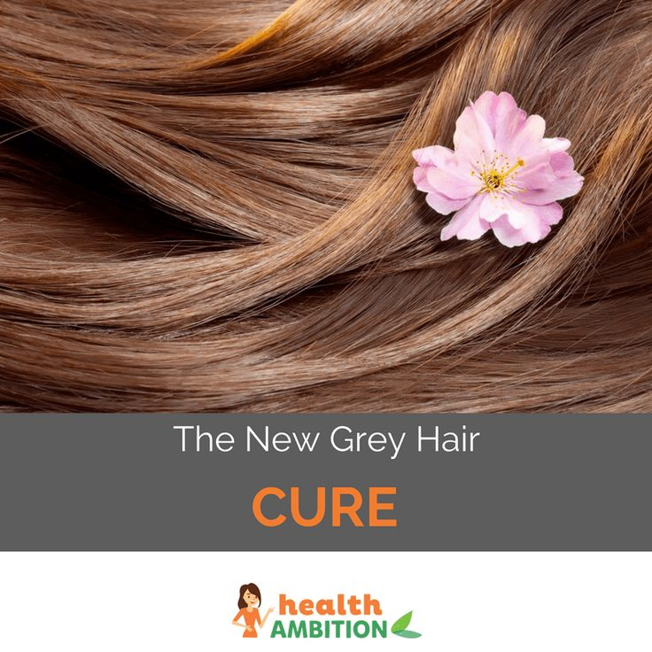 Have You Heard About the New Grey Hair Cure? - Health Ambition