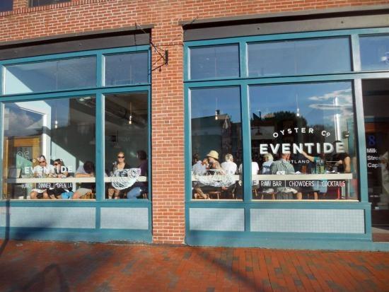eventide oyster company portland maine restaurants we like pinterest portland maine. Black Bedroom Furniture Sets. Home Design Ideas