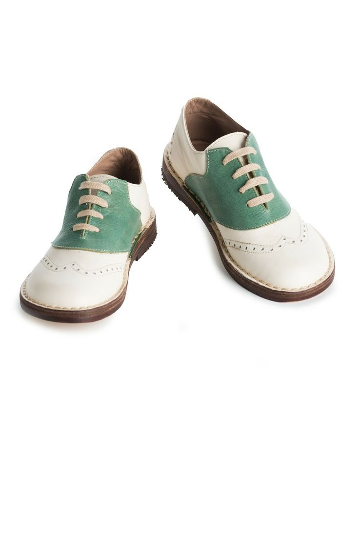 Mint Green Saddle Shoes Kids Just