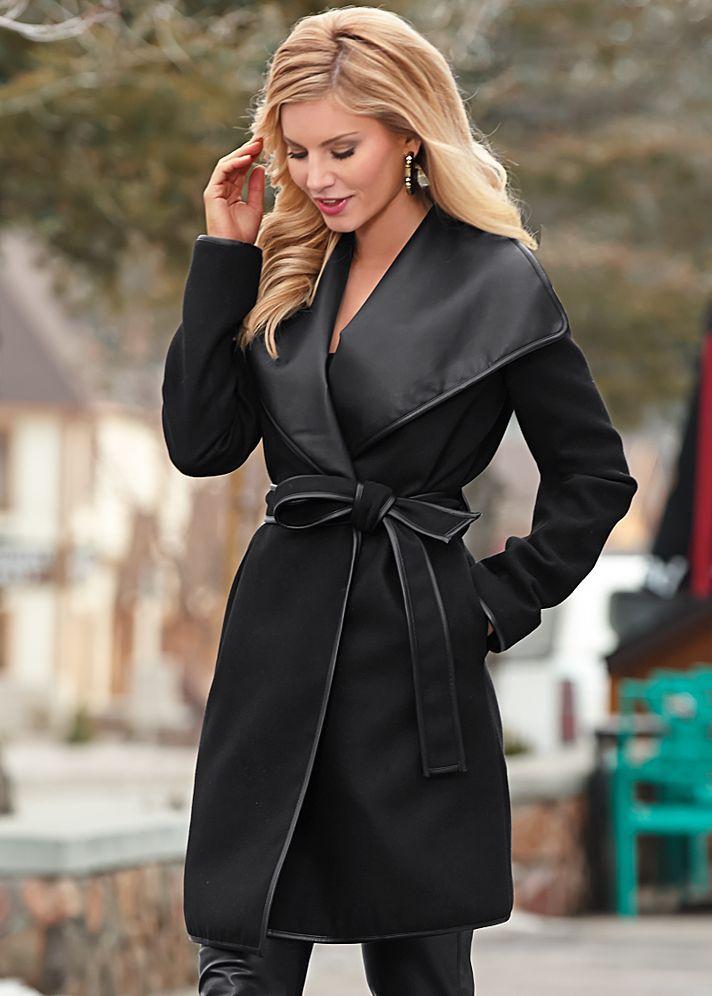 Leather Jacket Womens Black