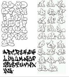 the Best Graffiti Alphabet || Graffiti Tutorial