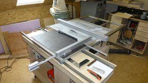 Bildergebnis für längsanschlag tischkreissäge selber bauen