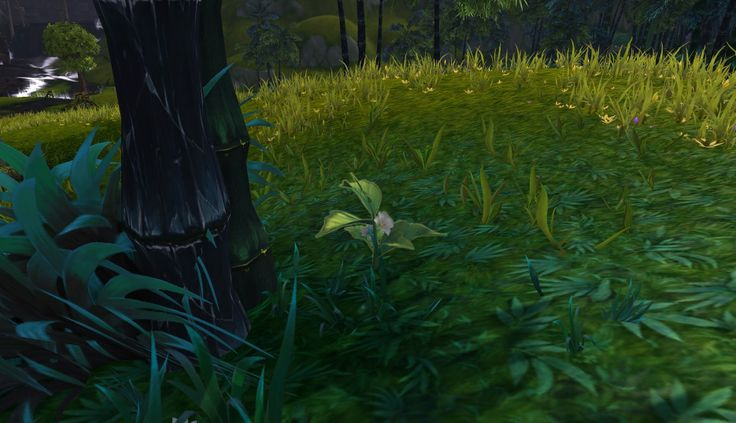 Warlords of Draenor is changing the look of nodes. This is a near/far look at how they'll appear from the Alpha servers.