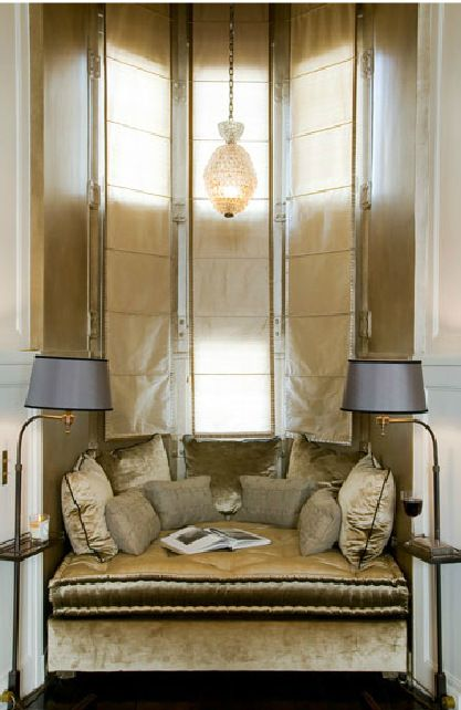 Paris Based designer Jean Louis Denoit has perfected Regency design for today's consumer. He designs homes all over the world. This is an image chateau in Chantilly France,