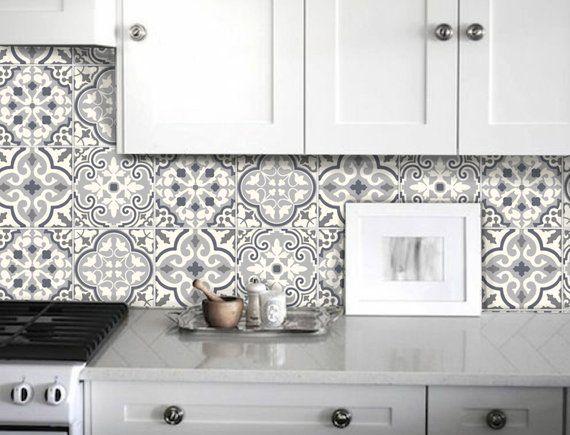 Tile Stickers Decal For Kitchen Bathroom Back Splash Floor