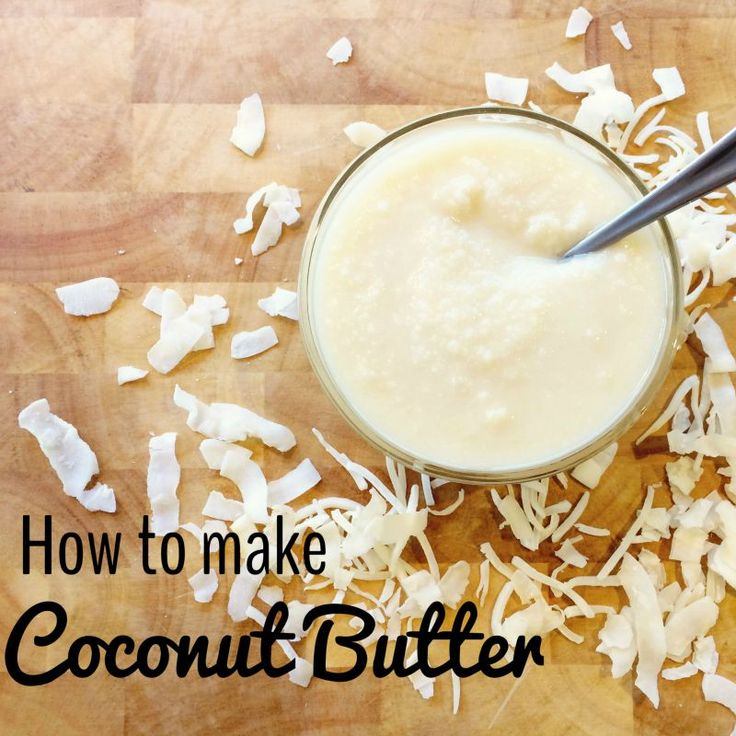 If you love coconut butter, don't buy it - find out how to make coconut butter in a few easy steps!