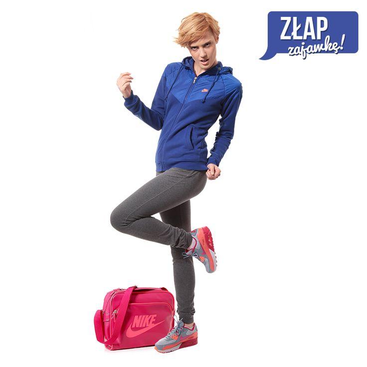 Złap zajawkę! Nas jara :) #Nike #AirMax #AirMax90 #bluza #torba #Sizeer
